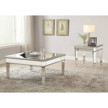 Cairns Collection Transitional Silver Coffee Table 703938 Cocktail Tables Price Busters Furniture
