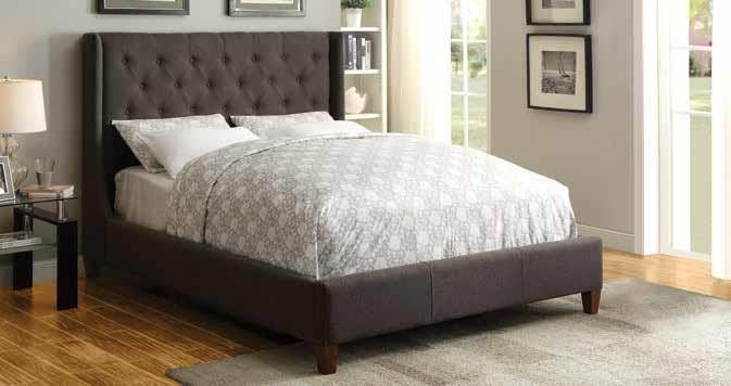 Owen Upholstered Bed - EASTERN KING BED   300453KE   Complete Bed ...