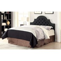 OJAI HEADBOARD - Ojai Traditional Charcoal Upholstered King Headboard