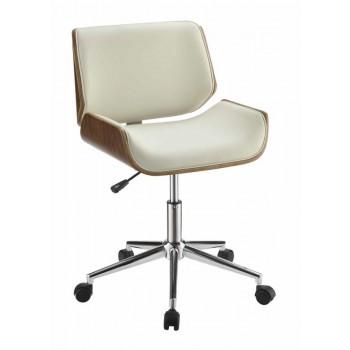 HOME OFFICE : CHAIRS - Modern Ecru Office Chair