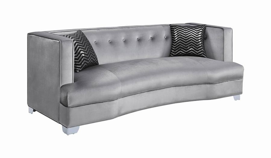 BLING GAME LIVING ROOM COLLECTION - Bling Game Living Room Contemporary Sofa