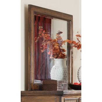 ELK GROVE COLLECTION - Elk Grove Rustic Rectangular Dresser Mirror