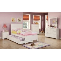 ASHTON COLLECTION - Ashton White Twin Bed