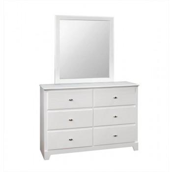 ASHTON COLLECTION - Ashton Transitional White Dresser