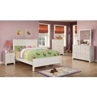 ASHTON COLLECTION - Ashton White Full Bed