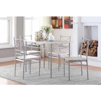 DINING: PACKAGED SETS: METAL - 5 PC SET