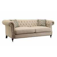 TRIVELLATO COLLECTION - Trivellato Traditional Oatmeal Sofa