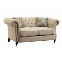 TRIVELLATO COLLECTION - Trivellato Traditional Oatmeal Loveseat