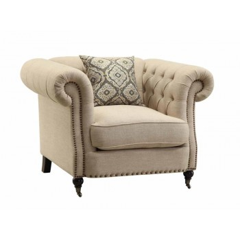 TRIVELLATO COLLECTION - Trivellato Traditional Oatmeal Chair