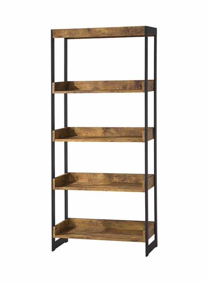 ESTRELLA COLLECTION - Estrella Industrial Antique Nutmeg Bookcase
