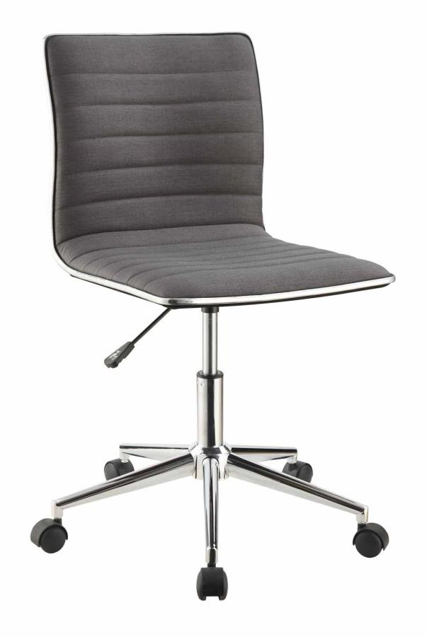 Home Office Chairs Modern Grey And Chrome Home Office Chair 800727 Home Office Desk Chair Above And Beyond Furniture Superstore