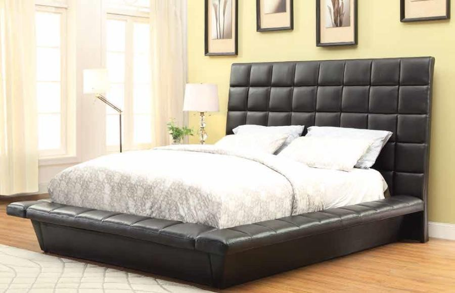 in cherry mattress eastern furniture america bed of safire brown king