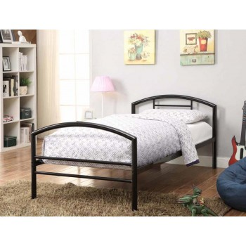 BAINES METAL BEDS - Baines Black Metal Bed