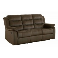 RODMAN MOTION COLLECTION - Rodman Chocolate Reclining Sofa