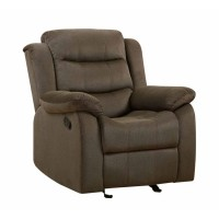 RODMAN MOTION COLLECTION - Rodman Casual Chocolate Glider Recliner