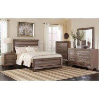 KAUFFMAN COLLECTION  - Kauffman Transitional Two-Drawer Nightstand