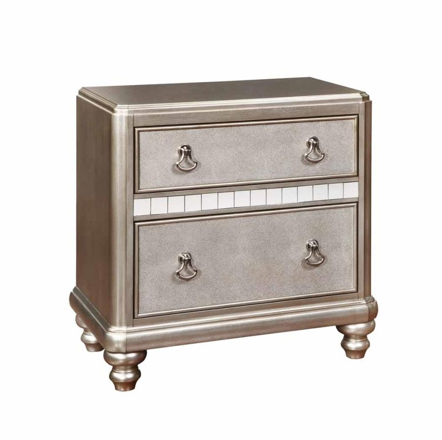BLING GAME COLLECTION - Bling Game Two-Drawer Nightstand