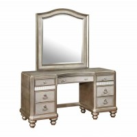 BLING GAME COLLECTION - Bling Game Seven-Drawer Vanity Desk