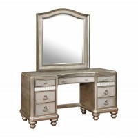 BLING GAME COLLECTION - Bling Game Vanity Mirror With Arched Top