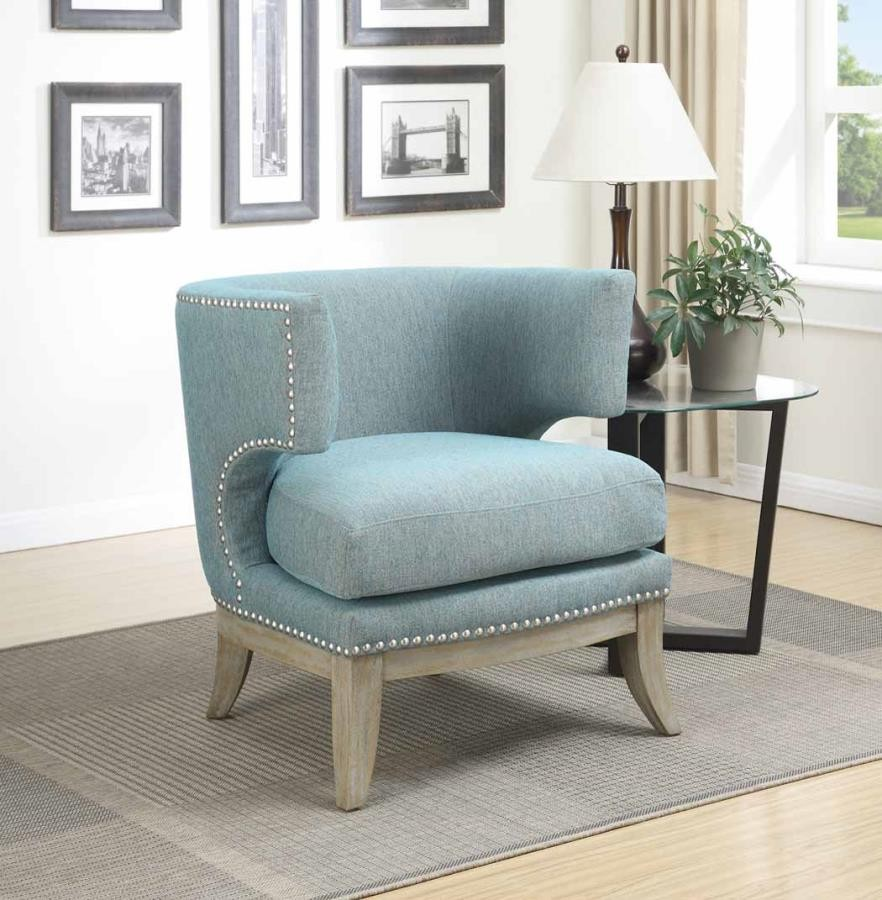 Swell Accents Chairs Contemporary Blue Accent Chair Ibusinesslaw Wood Chair Design Ideas Ibusinesslaworg