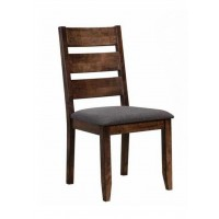ALSTON COLLECTION - Alston Rustic Knotty Nutmeg Dining Chair (Pack of 2)