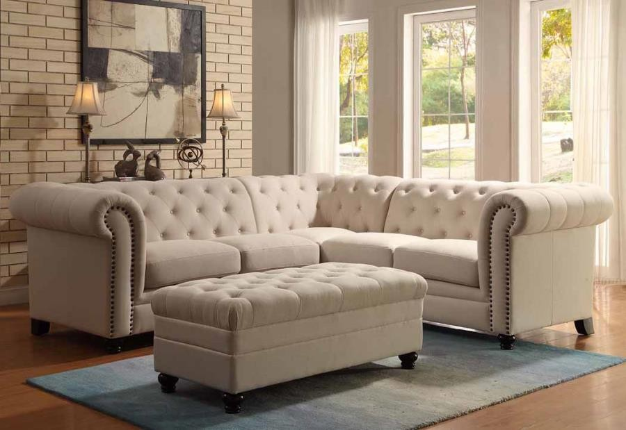 ROY SECTIONAL - Roy Oatmeal Sectional