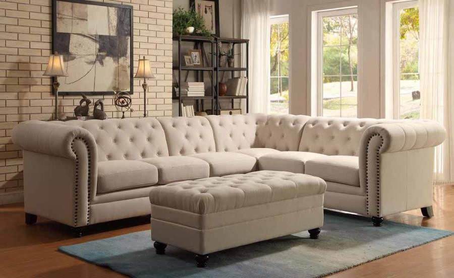 ROY SECTIONAL - OTTOMAN