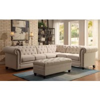 ROY SECTIONAL - ARMLESS CHAIR