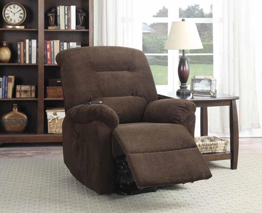 Excellent Living Room Power Lift Recliner Chocolate Power Lift Recliner Ocoug Best Dining Table And Chair Ideas Images Ocougorg