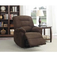 LIVING ROOM : POWER LIFT RECLINER - Chocolate Power Lift Recliner