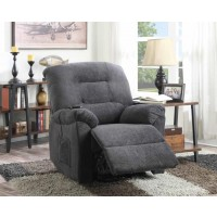 LIVING ROOM : POWER LIFT RECLINER - Charcoal Power Lift Recliner