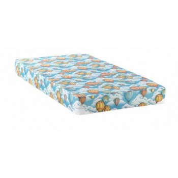 Balloon mattress with bunkie - Balloon Blue Patterned Full Mattress