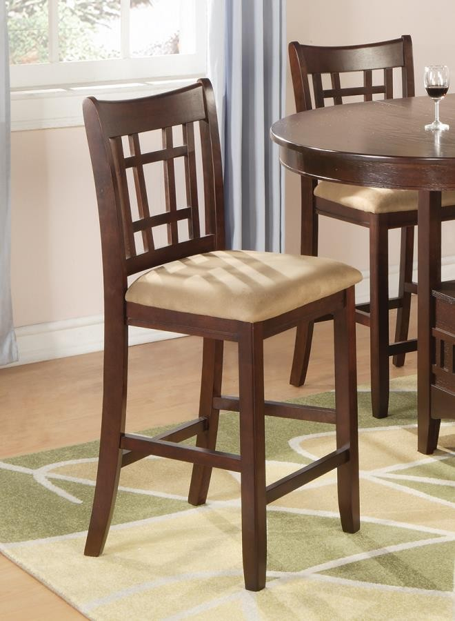 los angeles 683ae 77bb5 LAVON COLLECTION - Lavon Transitional Counter-Height Stool (Pack of 2)