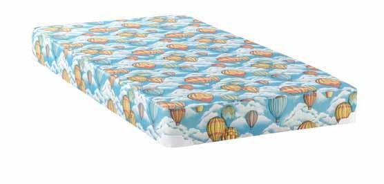 Balloon Mattress With Bunkie Balloon Blue Patterned Twin Mattress
