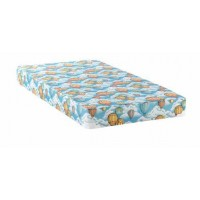 Balloon mattress with bunkie - Balloon Blue Patterned Twin Mattress