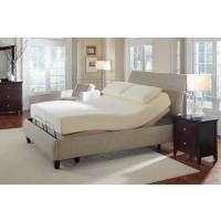 Premier Bedding Pinnacle Adjustable Bed Base - Premier Casual Beige California King Adjustable Bed