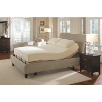 Premier Bedding Pinnacle Adjustable Bed Base - Premier Casual Beige Full Adjustable Bed