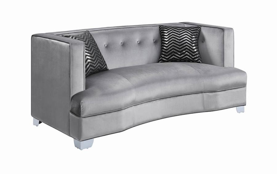 BLING GAME LIVING ROOM COLLECTION - LOVESEAT