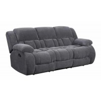 WEISSMAN MOTION COLLECTION - Weissman Grey Reclining Sofa