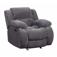 WEISSMAN MOTION COLLECTION - Weissman Grey Glider Recliner