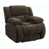WEISSMAN MOTION COLLECTION - Weissman Brown Glider Recliner