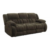 WEISSMAN MOTION COLLECTION - Weissman Brown Reclining Sofa