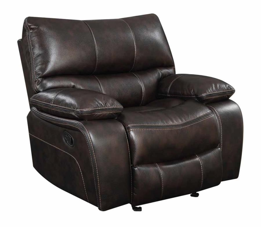 WILLEMSE MOTION COLLECTION - Willemse Chocolate Glider Recliner