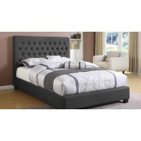 Chloe Upholstered Bed - EASTERN KING BED