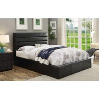 RIVERBEND UPHOLSTERED BED - E KING BED
