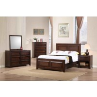 GREENOUGH COLLECTION - Greenough Transitional Maple Oak Full Storage Bed