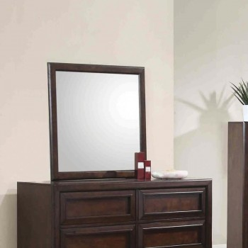 GREENOUGH COLLECTION - Greenough Transitional Cappuccino Mirror