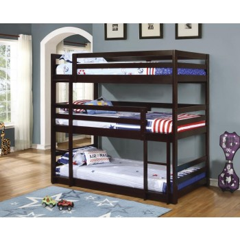 SANDLER COLLECTION - T/T/T TRIPLE BUNK BED
