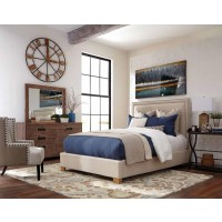 MADELEINE UPHOLSTERED BED -  Madeleine Queen Bed