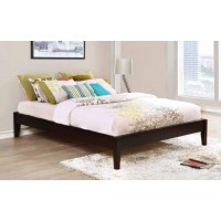 HOUNSLOW PLATFORM BED - Hounslow Cappuccino Queen Platform Bed